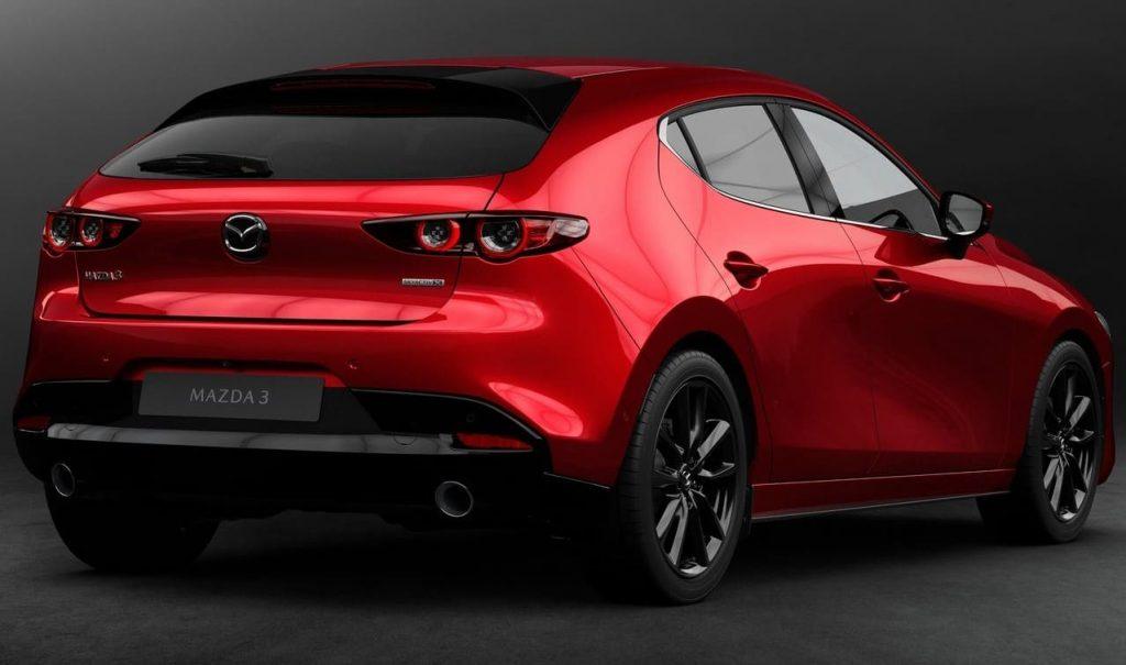 Trasera Mazda 3 2019