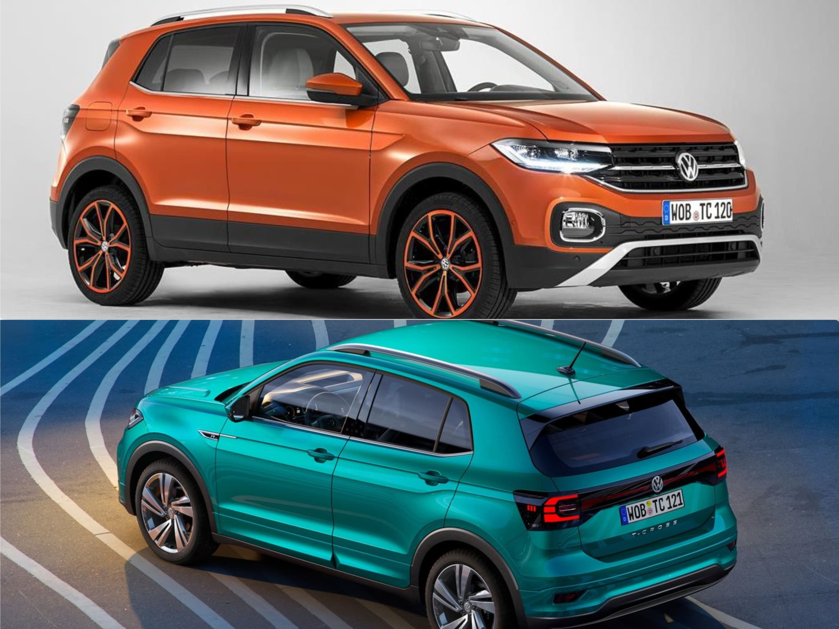 Colores Volkswagen T-Cross