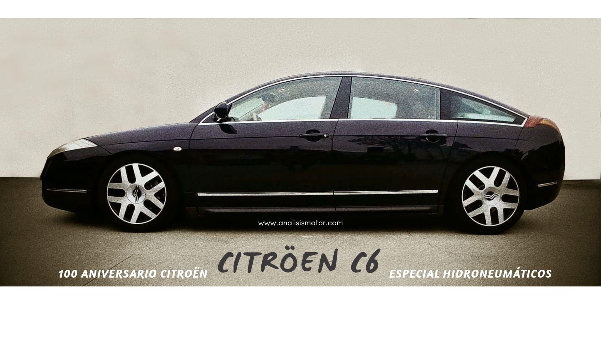 Todo sobre el Citröen C6: prueba, características, historia