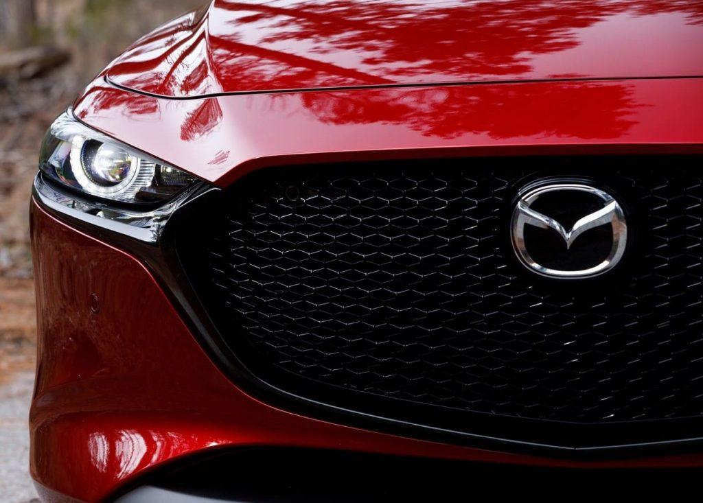 Frontal Mazda 3 2019