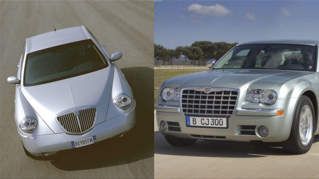 Lancia Thesis y Chrysler 300C