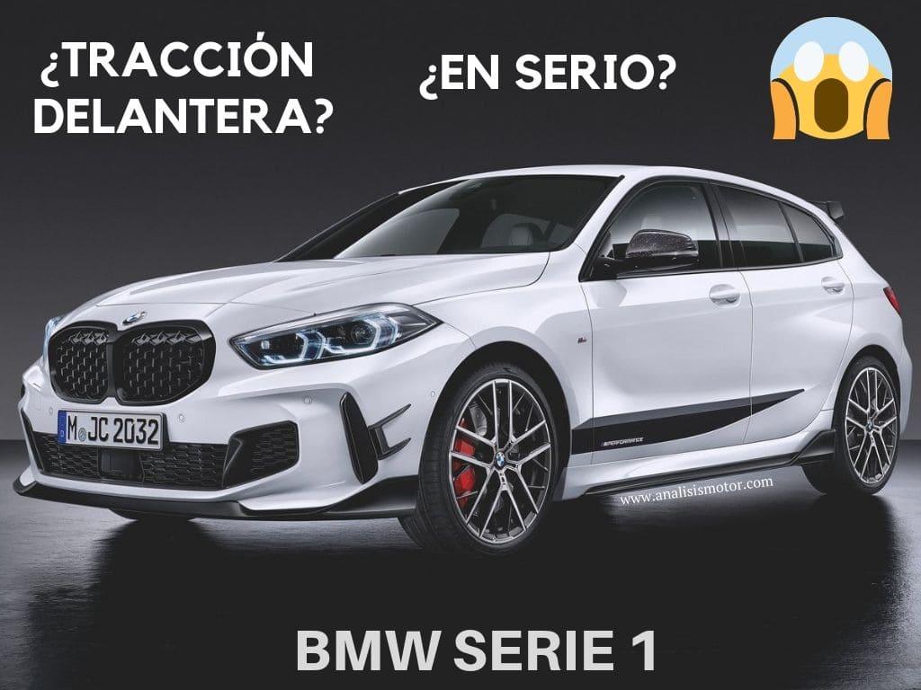 ¿Por qué el nuevo BMW Serie 1 es tracción delantera?