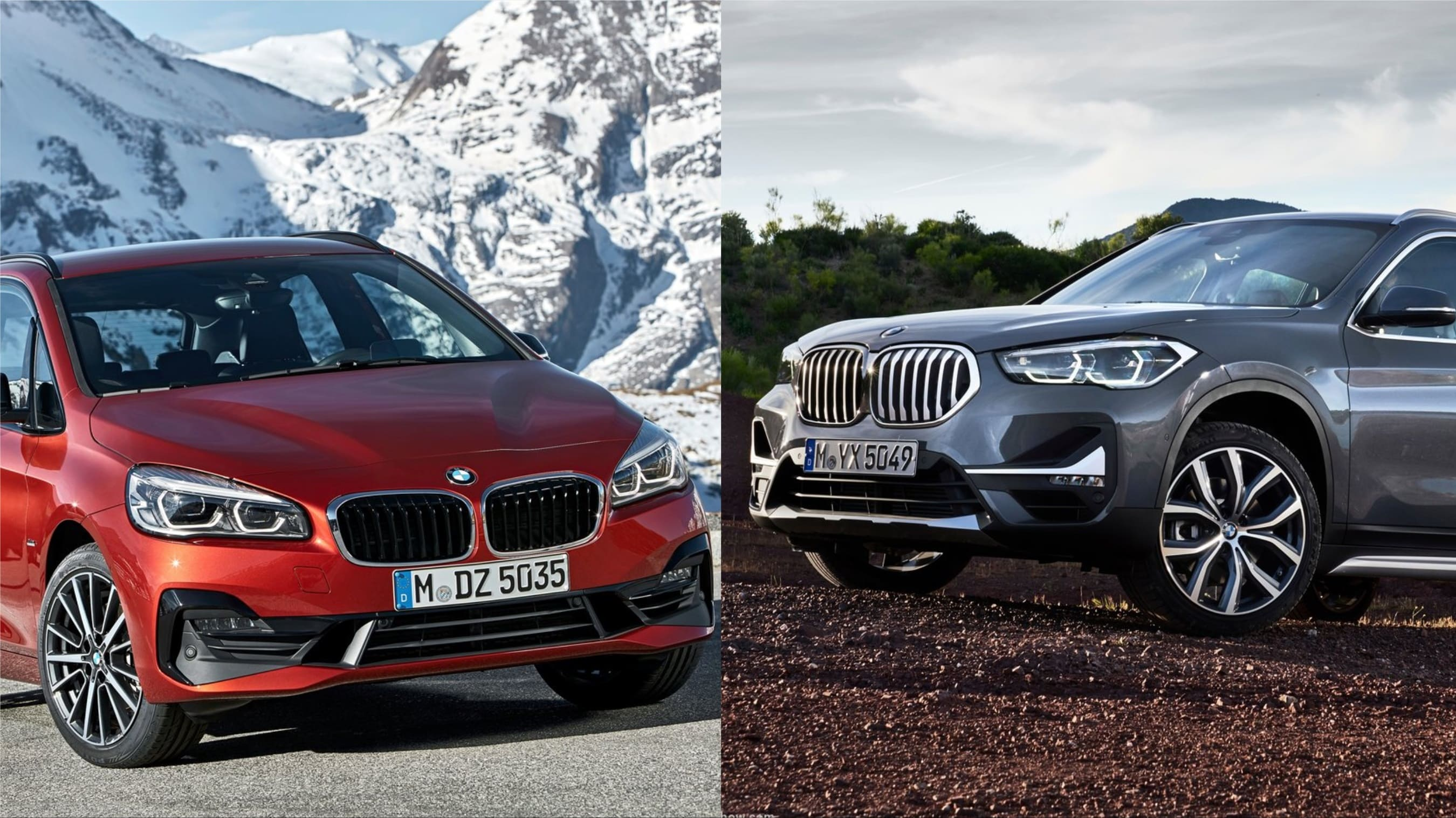 BMW X1 VS BMW Serie 2 Active Tourer