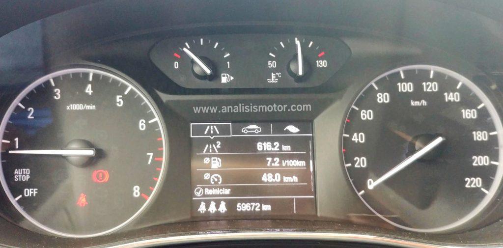 Consumo Opel Mokka 1.4 T