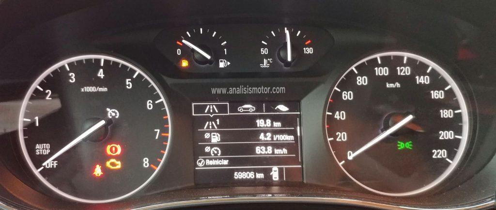 Consumo Opel Mokka X