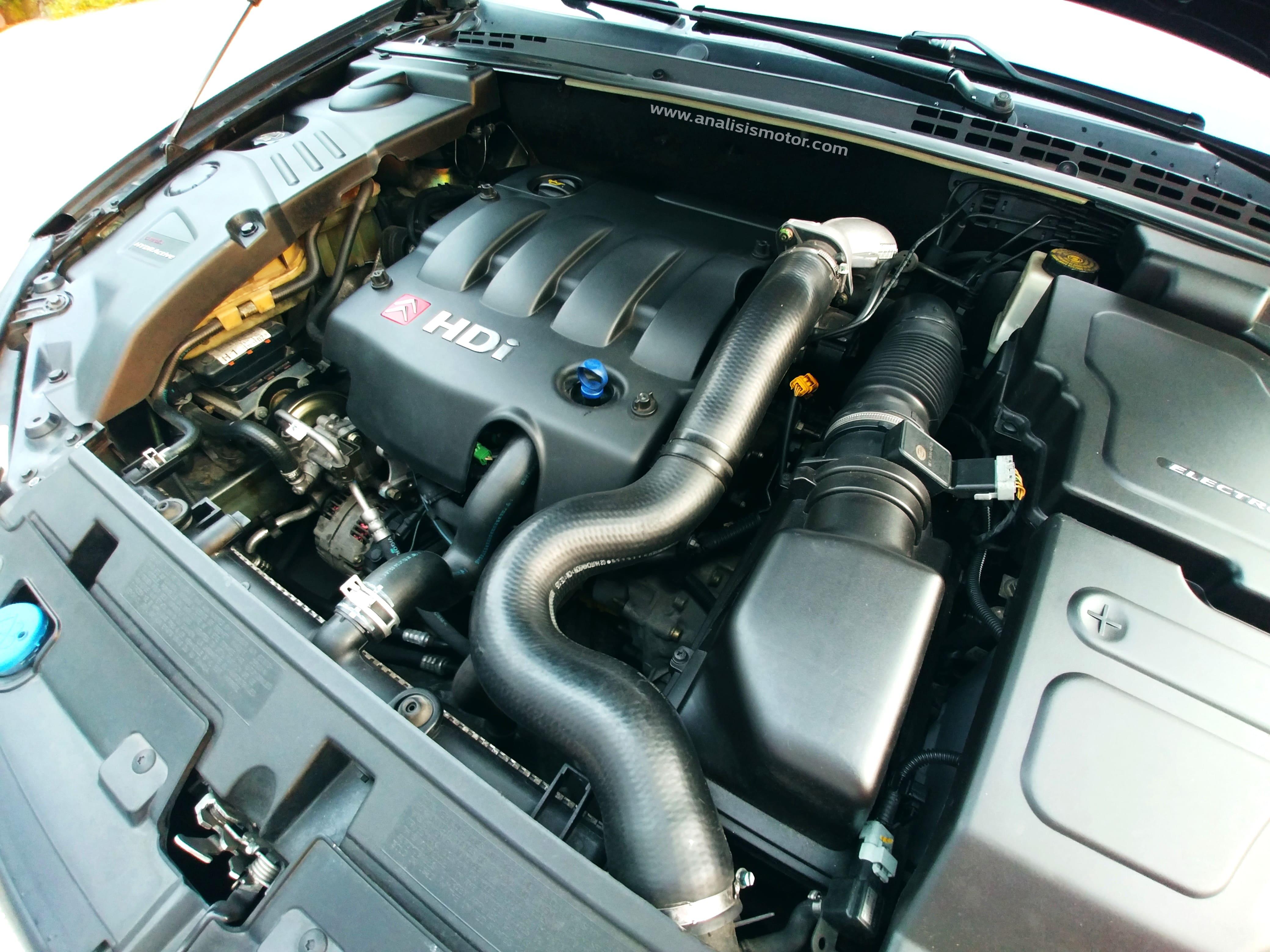 Motor 2.0 HDI 110 Citröen C5 turbo caudalímetro