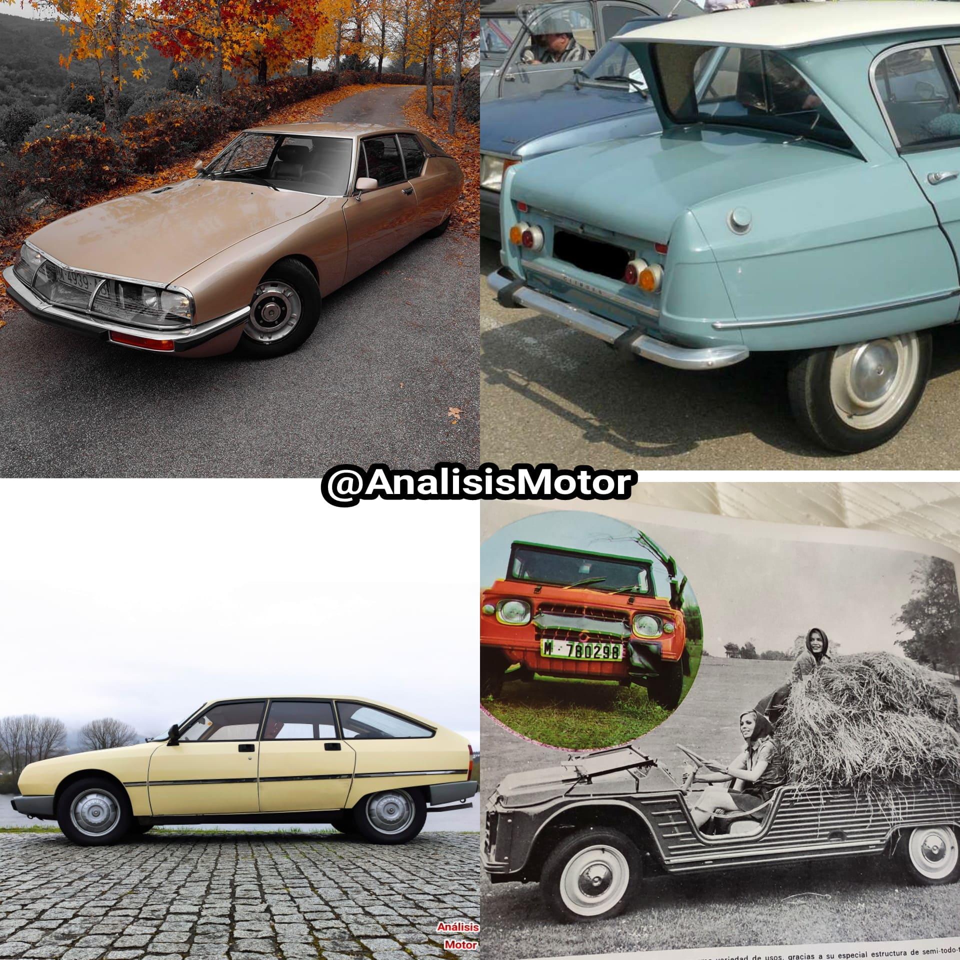 Citroen SM, Citroe GS, Citroen Mehari, Citroen AMI