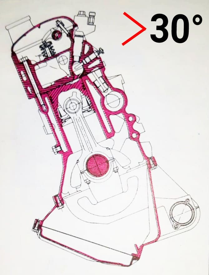 Motor Citroen CX